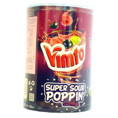 120 x Vimto Popping Candy Sachets 3.5g - Wholesale Bulk Buy